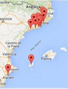 Mapa de projectes XELL 2015-16
