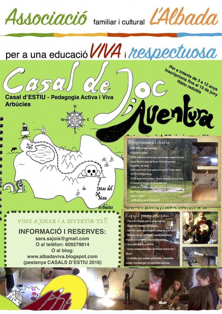 CASALS d'ESTIU (Juny, Juliol i Setembre)