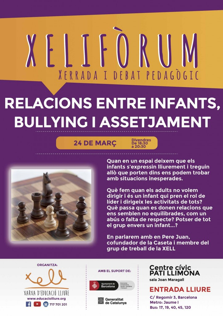 xeliforum-relacions-entre-infants-bullying-i-assetjament