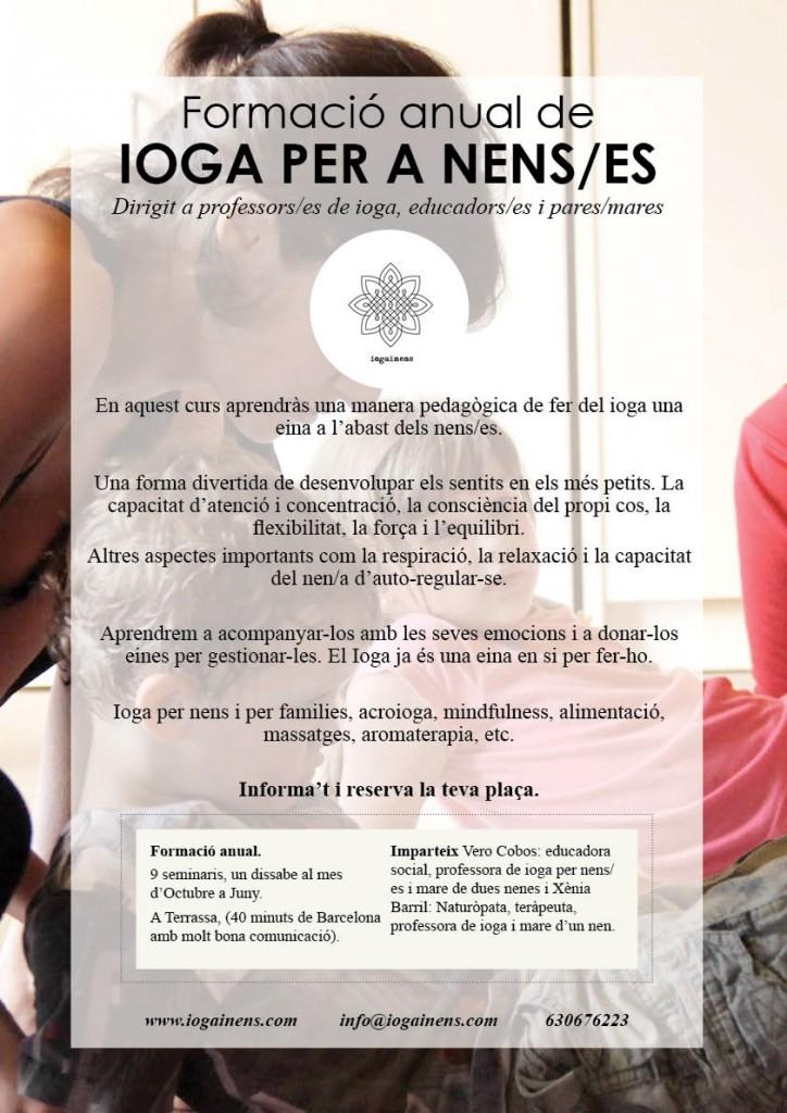FORMACIO DE IOGA PER A NENS i IOGA A L'ESCOLA