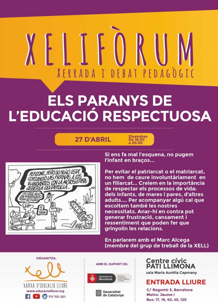 xeliforum-2018-els-paranys-de-leducacio-respectuosa