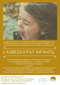Xerrada Agressivitat infantil Acompanyament Familiar