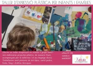 Taller d'expressió plàstica infants